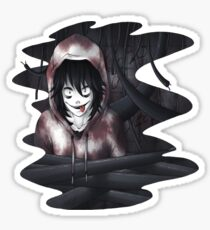 Jeff The Killer - In The Wall Sticker