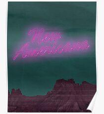Halsey New Americana Poster