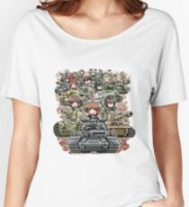 Girls und Panzer Crew Women's Relaxed Fit T-Shirt