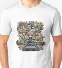 Girls und Panzer Crew T-Shirt