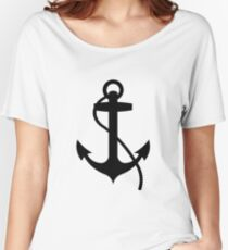 Nautical Anchor Women's Relaxed Fit T-Shirt