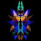 Neon Rorschach III by James McKenzie