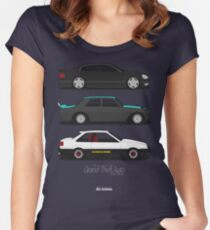Grand Theft Auto JDM Series Women's Fitted Scoop T-Shirt