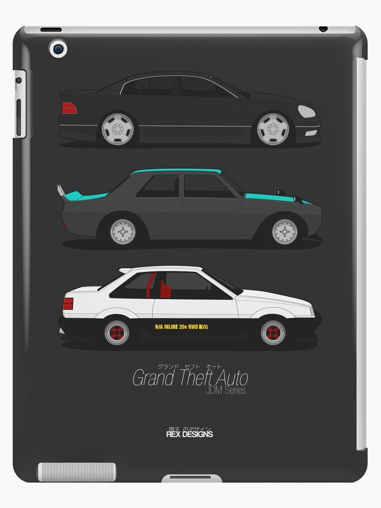 Grand Theft Auto JDM Series by RexDesigns