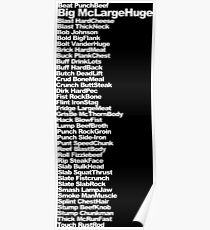 Big McLargeHuge Poster
