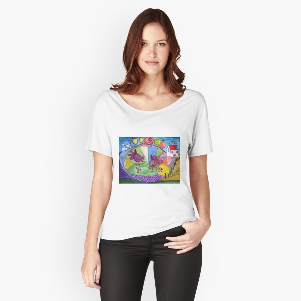 Naïve Art  Women's Relaxed Fit T-Shirt Front