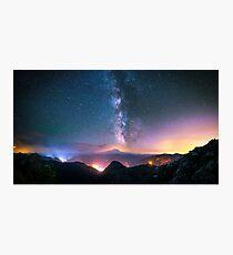 Beautiful Light Pollution Photographic Print