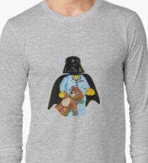 Sleepy Darth Vader Long Sleeve T-Shirt