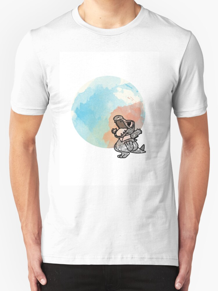 Totodile t shirts hoodies by ruirei redbubble for T shirt printing stockton ca