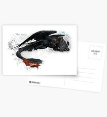 Toothless Postcards
