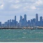 MELBOURNE, VIA BRIGHTON AND PORT PHILLIP BAY by Tamara Bush