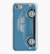 1961 Volkswagen Beetle Sedan - Dove Blue iPhone Case/Skin
