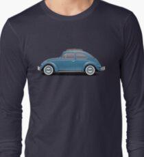 1961 Volkswagen Beetle Sedan - Dove Blue T-Shirt