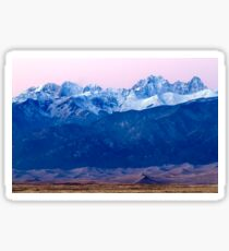 Sangre de Christo and The Great Sand Dunes National Park Sticker