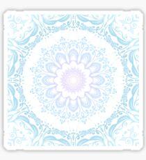 winter sun Mandala Sticker