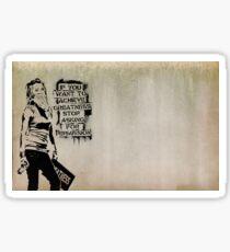 banksy-02 Sticker
