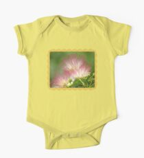Mimosa ~  An Exotic Flowering Tree One Piece - Short Sleeve