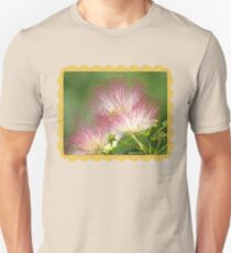 Mimosa ~  An Exotic Flowering Tree Slim Fit T-Shirt