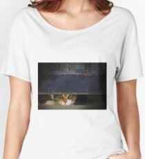 Curious Looks of Calico Cat Women's Relaxed Fit T-Shirt