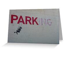 banksy-04 Greeting Card