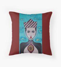 Anahata Throw Pillow