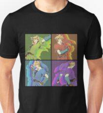 Legend of Zelda: 4 swords adult Links Unisex T-Shirt