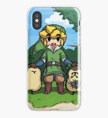 Legend of Zelda Skyward Sword: Link and Kikwis iPhone Case/Skin