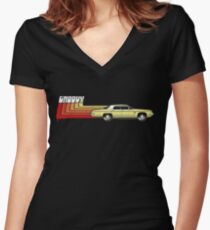 The Classic Women's Fitted V-Neck T-Shirt