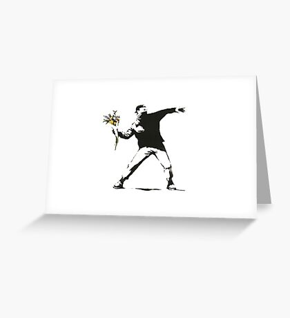 banksy-11 Greeting Card