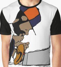 J Dilla Print 2 Graphic T-Shirt
