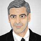 George Clooney by mikath