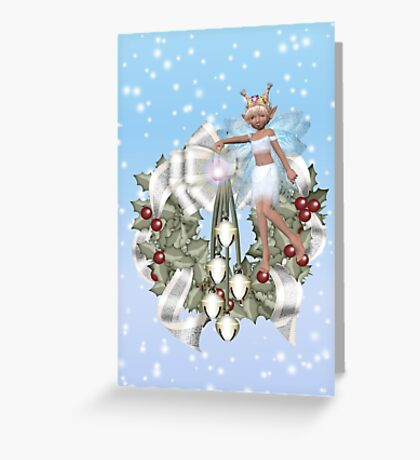 Fairy Wreath Greeting Card