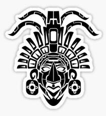 South American Native Mask Sticker
