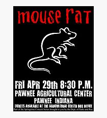 Mouse Rat - Concert Poster Photographic Print