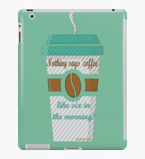 GILMORE GIRLS-coffee addicted iPad Case/Skin