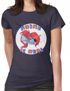 Undyne - Anime is real Womens Fitted T-Shirt