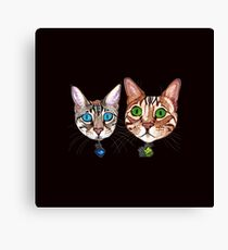 Blix and Sailor Jerry 2 Canvas Print
