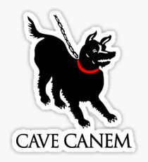 Cave Canem Sticker