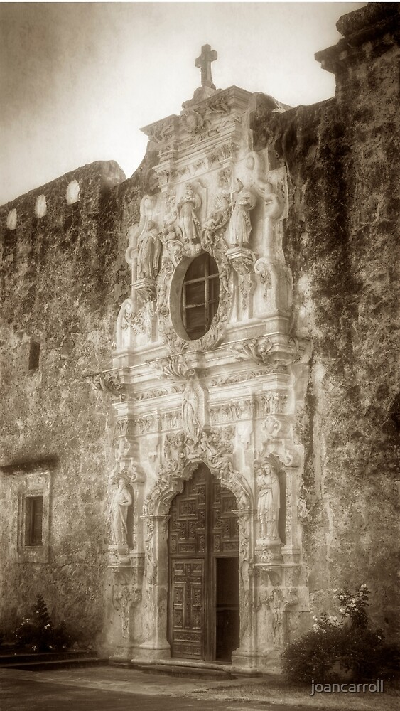 Mission San Jose Facade by joancarroll