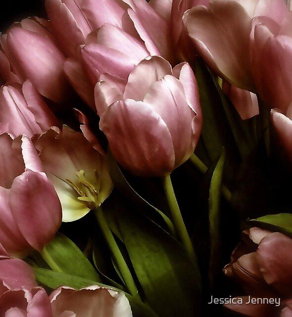 Twilight Tulips by Jessica Jenney