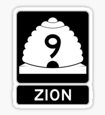 Utah 9 - Zion National Park Sticker