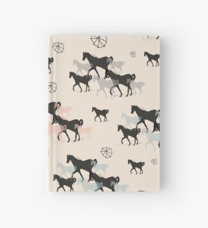 Horses Hardcover Journal