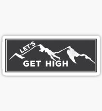 Get High Sticker