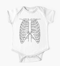 X-ray Chest One Piece - Short Sleeve