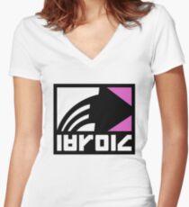 Splatoon 04 Women's Fitted V-Neck T-Shirt