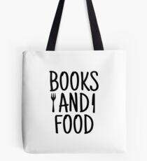 BOOKS AND FOOD Tote Bag