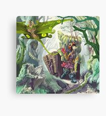 Living In A Swamp Canvas Print