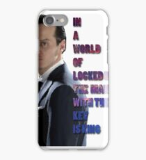 In a World Of Locked Rooms... iPhone Case/Skin