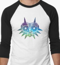 Galaxy Majora's Mask Men's Baseball ¾ T-Shirt