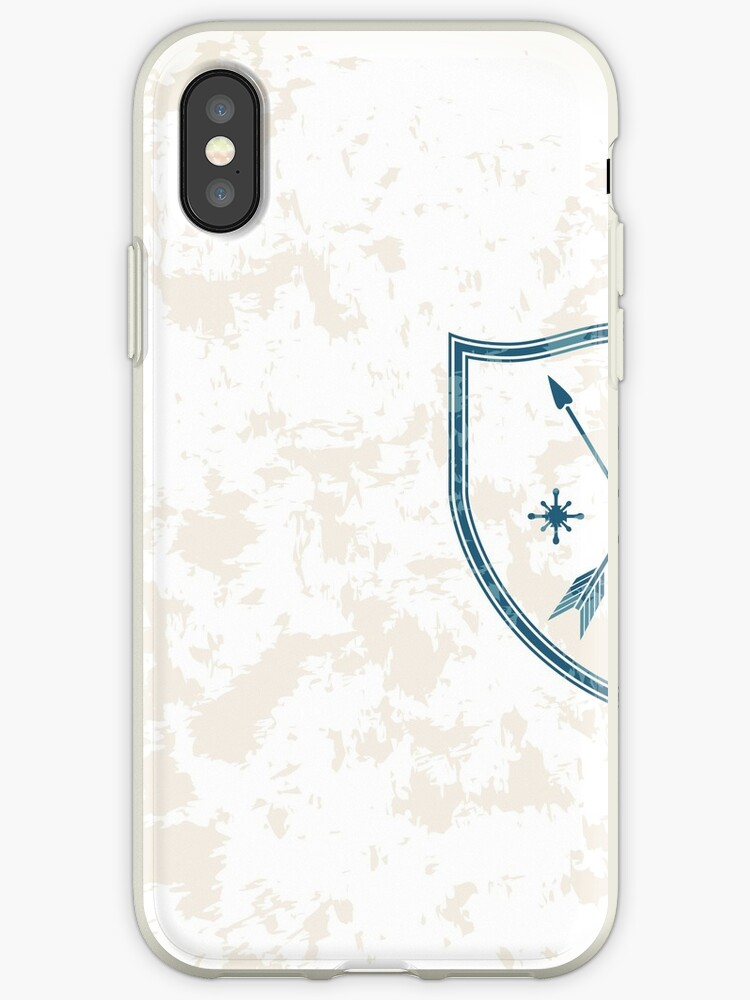 Coat Of Arms With Crossed Arrows Heart And Sun Symbols Iphone